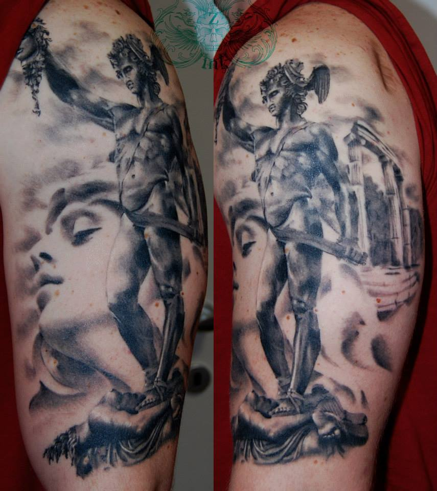 Perseus Vs Medusa Best Tattoo Design Ideas