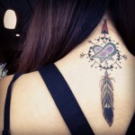 Dream Catcher Neck Tat