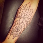 Feathers Tattoo On Arm