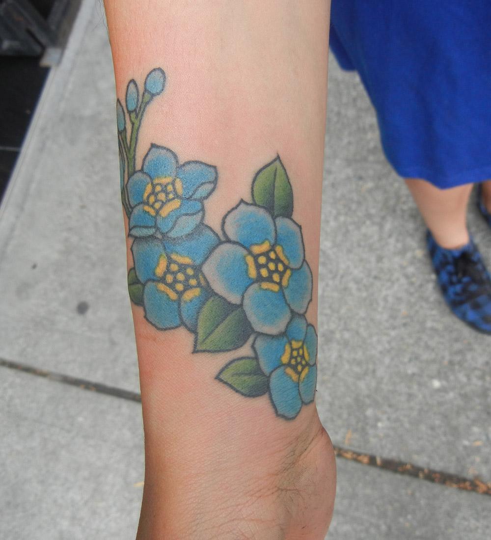 Forget Me Not Tattoo Best Tattoo Design Ideas