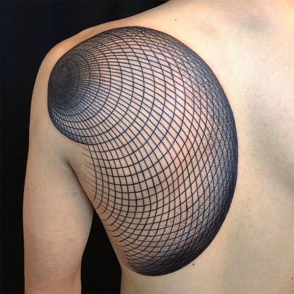 Geometric Tattoo By Manuel Winkler