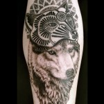 Wolf Tattoo By Coyote Negro