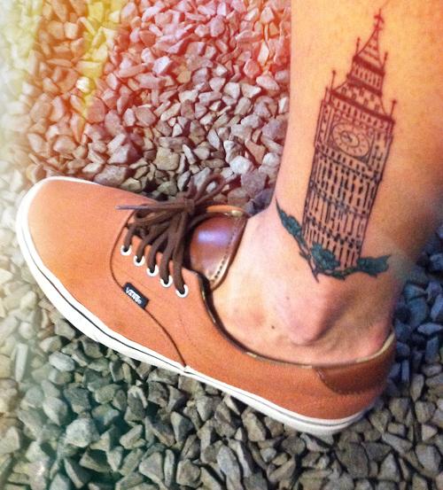 big ben tattoo best tattoo design ideas. Black Bedroom Furniture Sets. Home Design Ideas
