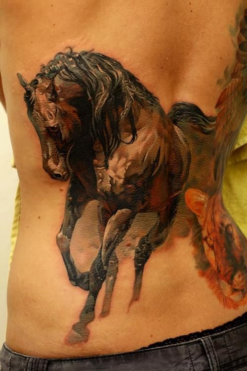 Amazing Horse Tattoo