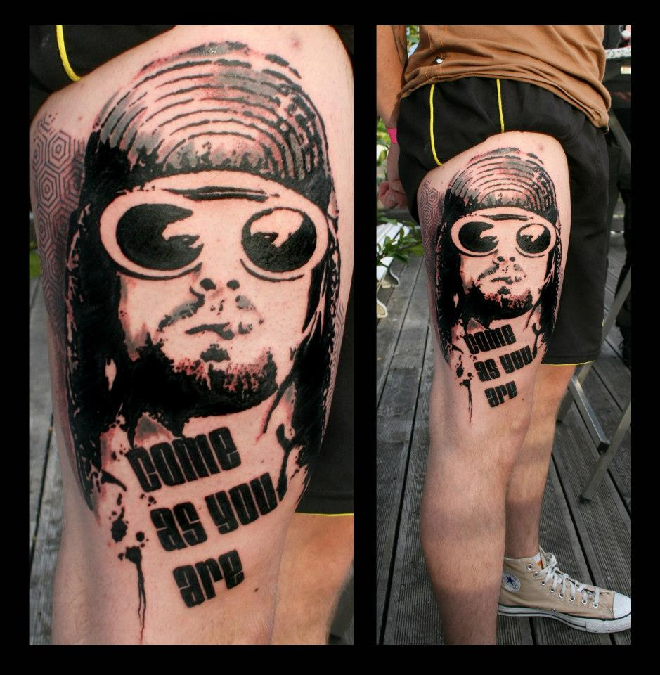 Curt Cobain Tattoo