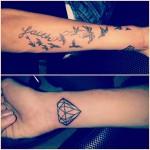 Diamond and Faith with Birds