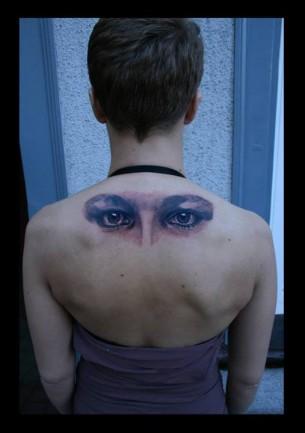 Eyes Back Tattoo