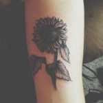 Flower Arm Tattoo