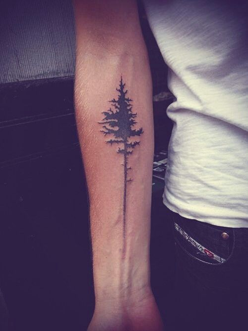 Forearm Tree Tattoo
