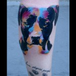 Pop Art Terrier Tattoo