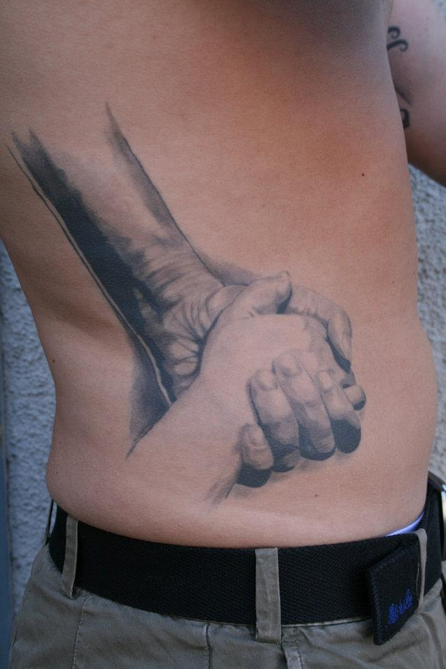 Super Realistic Arms Tattoo
