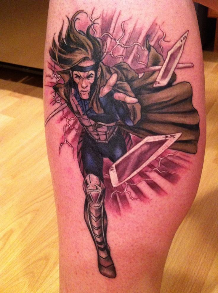 X-Men Gambit Tattoo By...