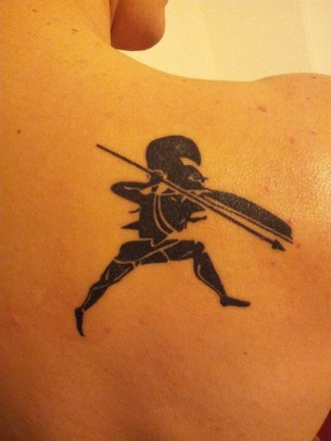 Spartan Tattoo