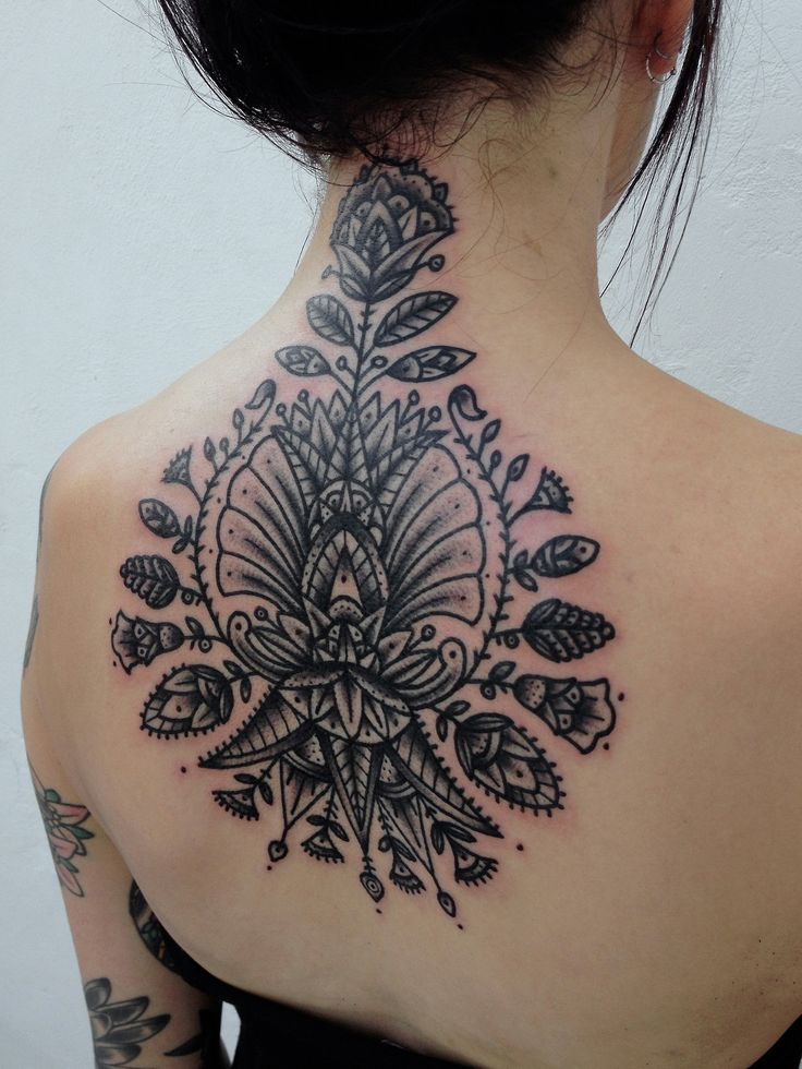 tribal tattoo tumblr back ideas Best tattoo  designs Tattoo Neck And & Amazing Back Floral