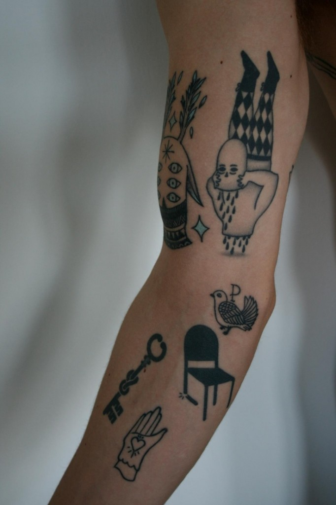 tattoos tattoo arm awesome give creeps source way