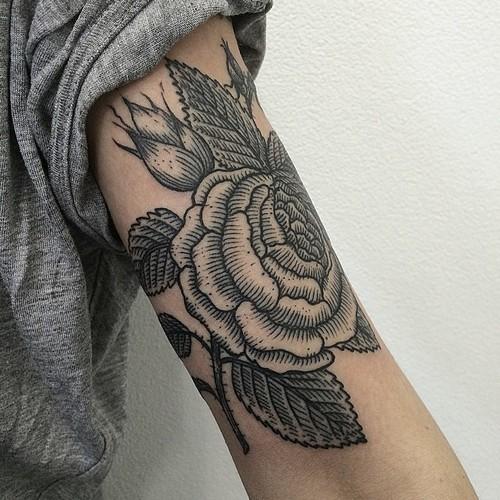 Tattoo ideas for upper arm hurts