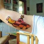 Yellow Submarine Tattoo