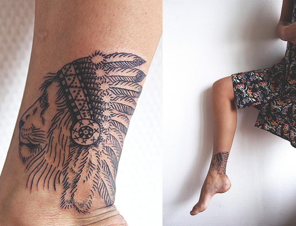 ec7b58b2a Indian Lion Tat | Best tattoo design ideas