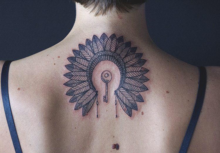 War Bonnet Tattoo