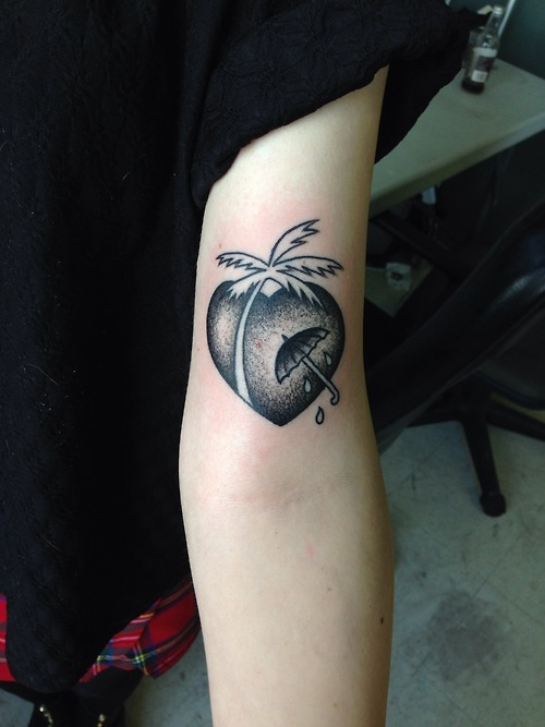 Heart Palm Tree