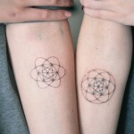 Matching Tattoos - Metatron's Cube