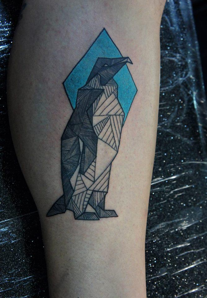 Penguin tattoo - photo#19