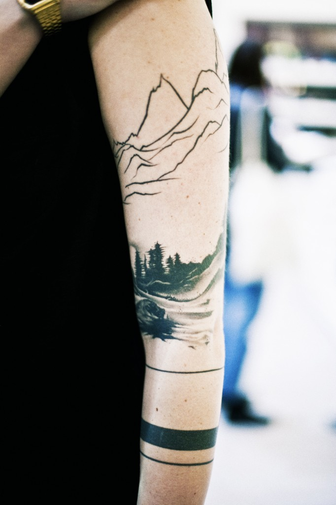 Tattooed Landscape