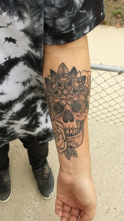 Black Sugar Skull