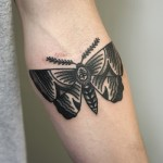 Butterfly Tattoo By Philip Yarnell