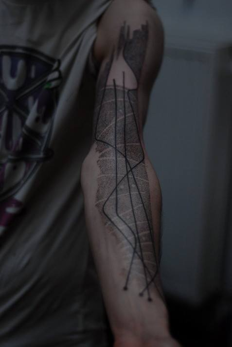 Dot Work Arm Tat