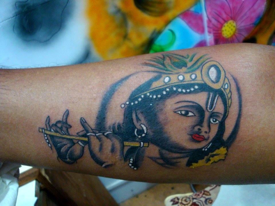 91b85dd67 Krishna Tattoo | Best tattoo design ideas