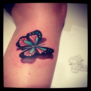 3D Small Butterfly