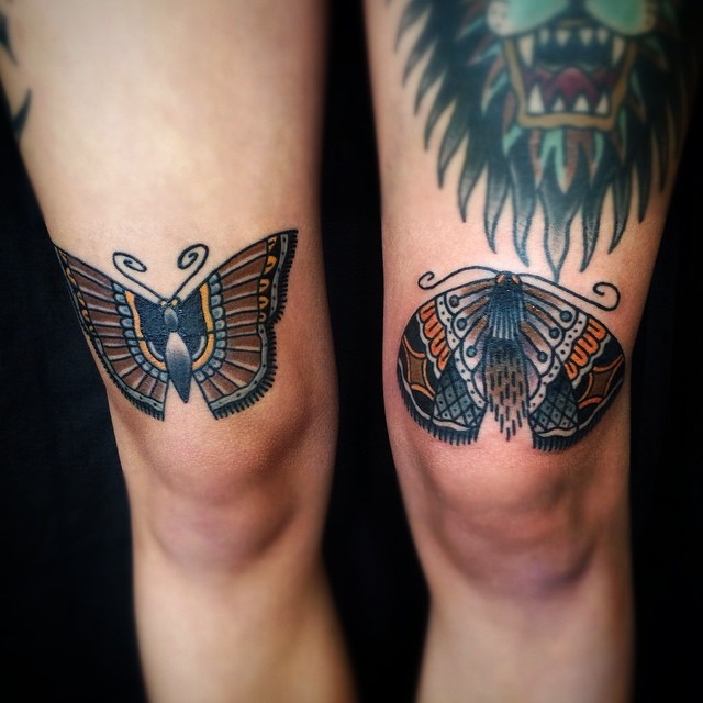 Butterflies Tattoos By Matt Cooley