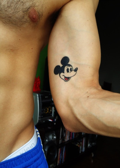 Little Mickey Mouse Tattoo