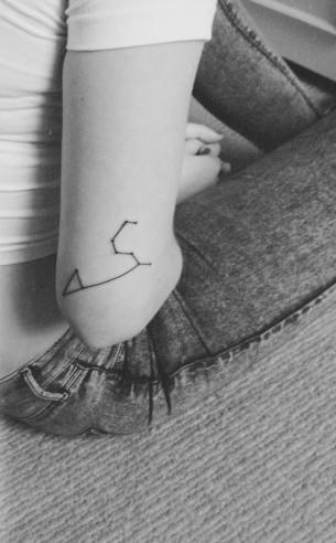 Minimal Constellation Tattoo