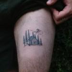 cabin tattoo
