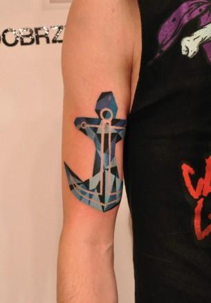 Anchor Tattoo By Marcin Aleksander Surowiec