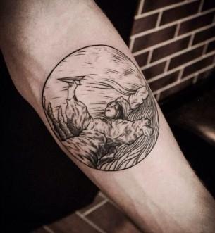 Tattoo By Nikita Broslavskiy