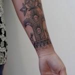 Archaic Pattern Tattoo
