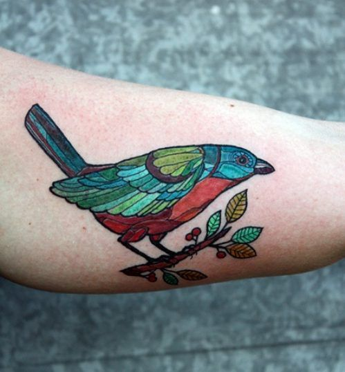 Beautiful Bird Tat