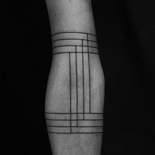 Grid Tattoo