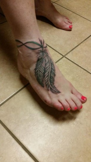 Feather Ankle Bracelet