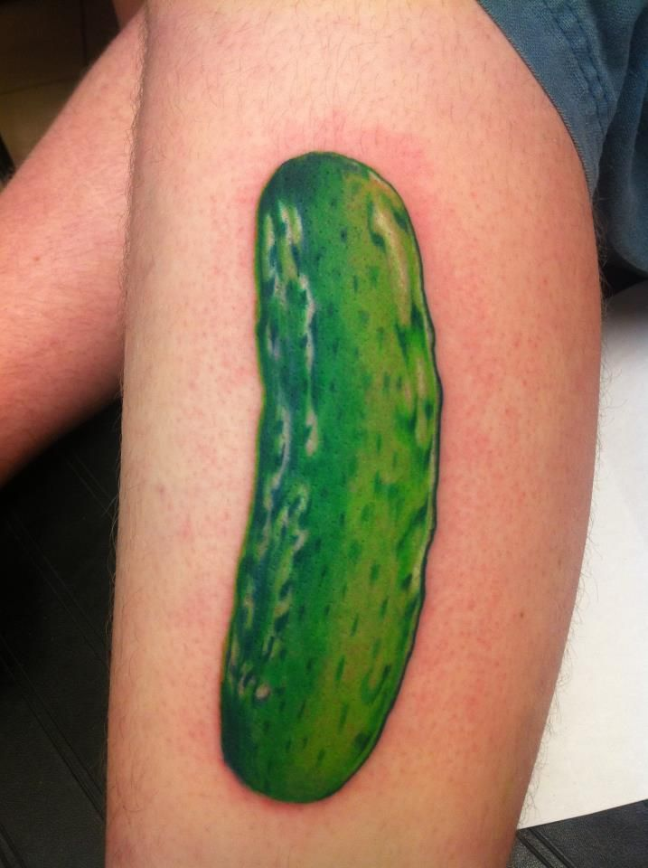 Cucumber Tattoo