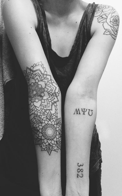 Double Mandala Tattoo