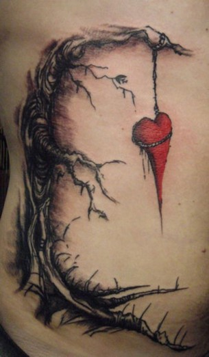 The Used 'In Love And Death' Album Cover Tattoo