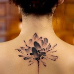 Cute Floral Tattoo