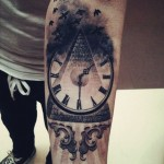 Time Flies Tattoo