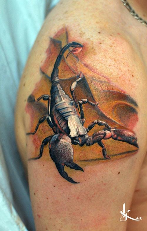 3d scorpion tattoo best tattoo design ideas for 3d scorpion tattoo