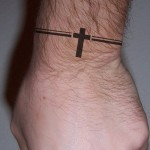 Small Cross Tattoo Design