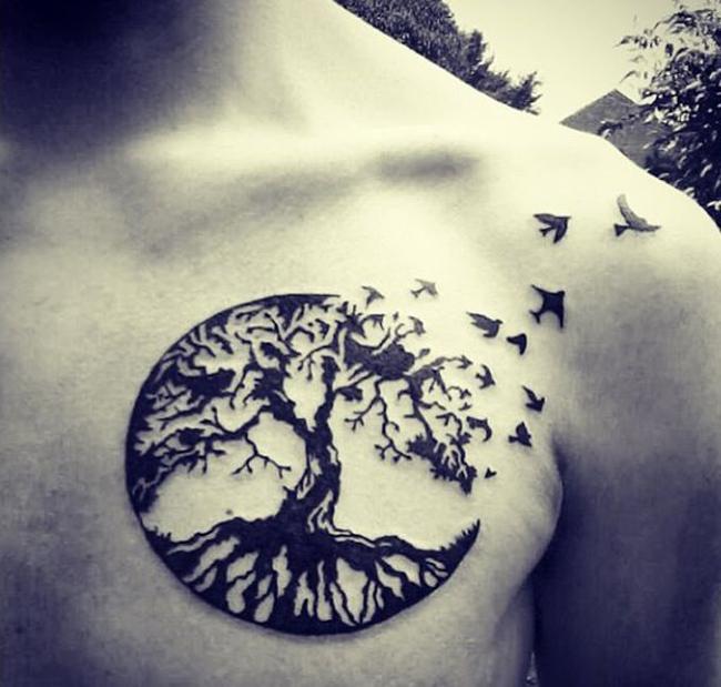 Tattoo circle of life tattoo tree tatoo tattoo design tree of life